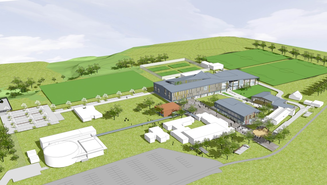 Artist's impression of redeveloped Western Springs College.
